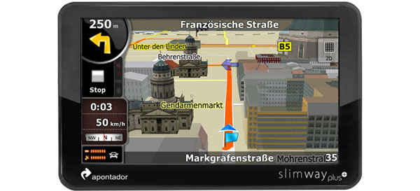 GPS Automotivo Slimway Plus - Apontador
